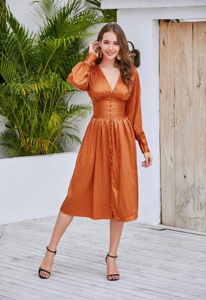 copper corset wedding spring 1Sansome dress
