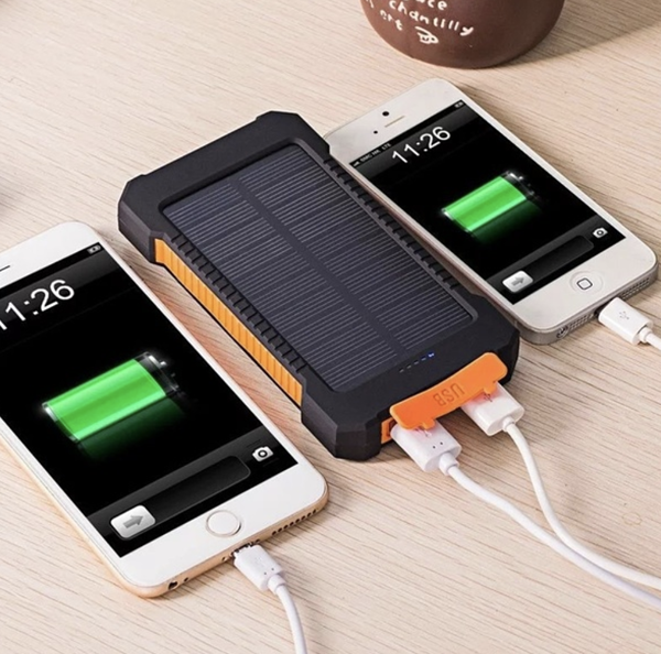solar power charging bank