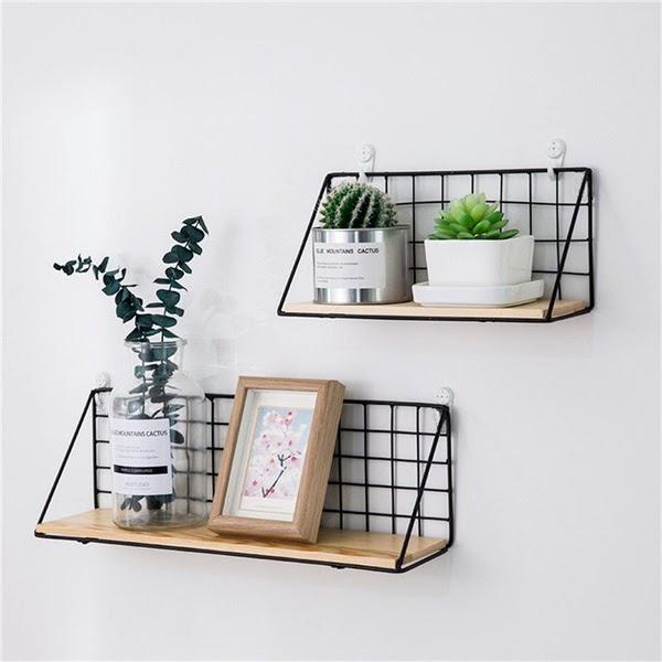 Minimalistic wall shelf