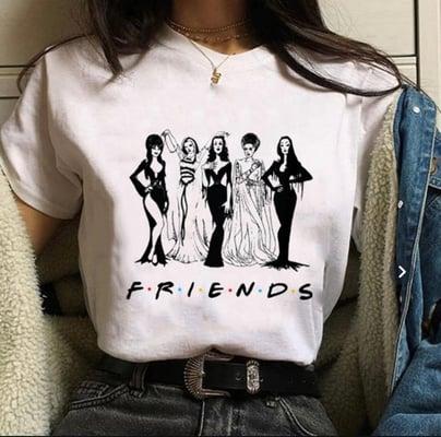 friends-halloween-tee-shirt