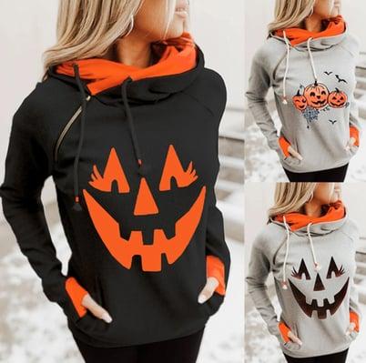 Pumpkin-womens-female-hoodie