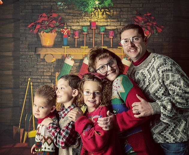 family photo christmas sweaters