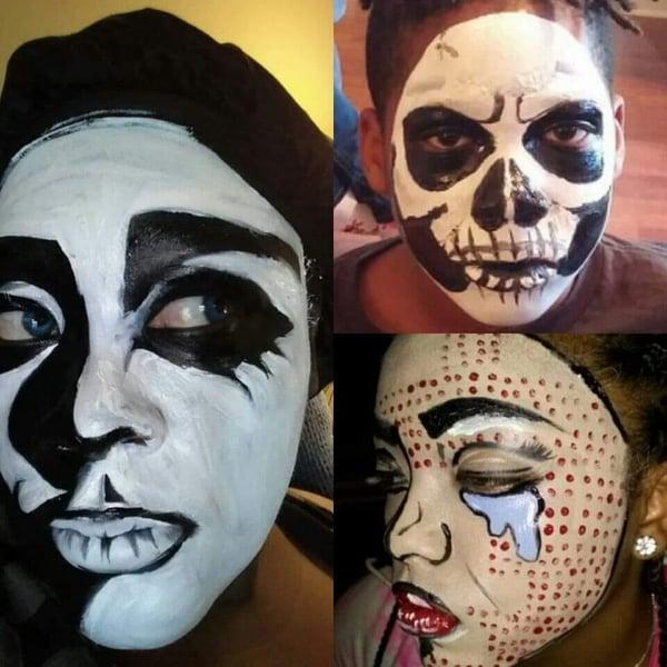 face-paint-halloween