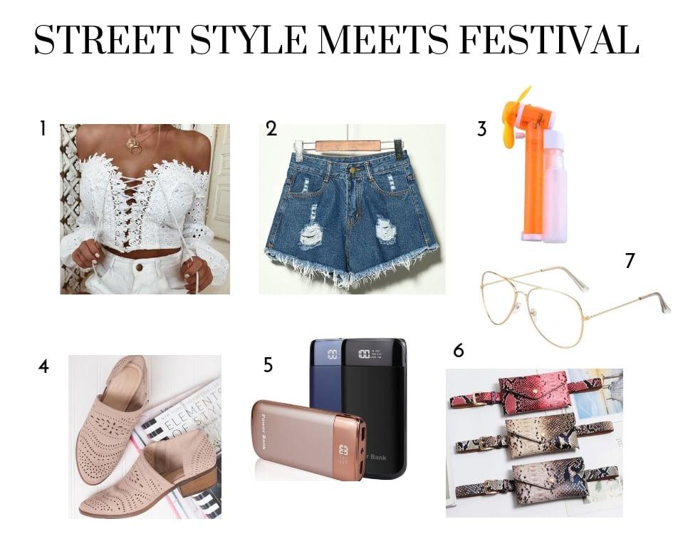 Street Style Meets Festival