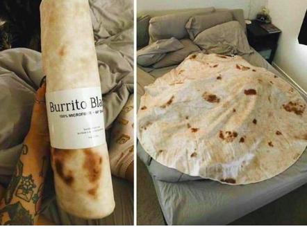 Burrito Blanket for Stocking