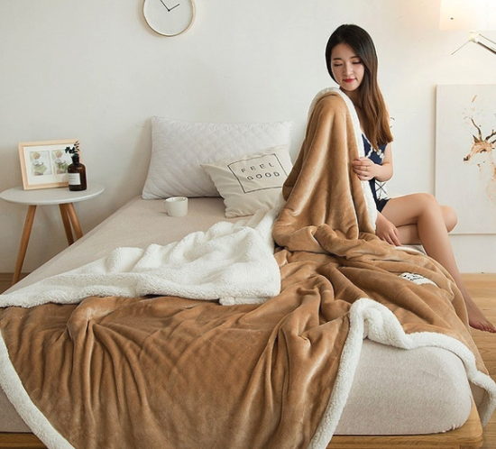 Plush Double Layer Blanket
