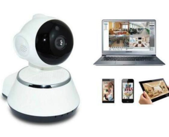 At Home security robot camera