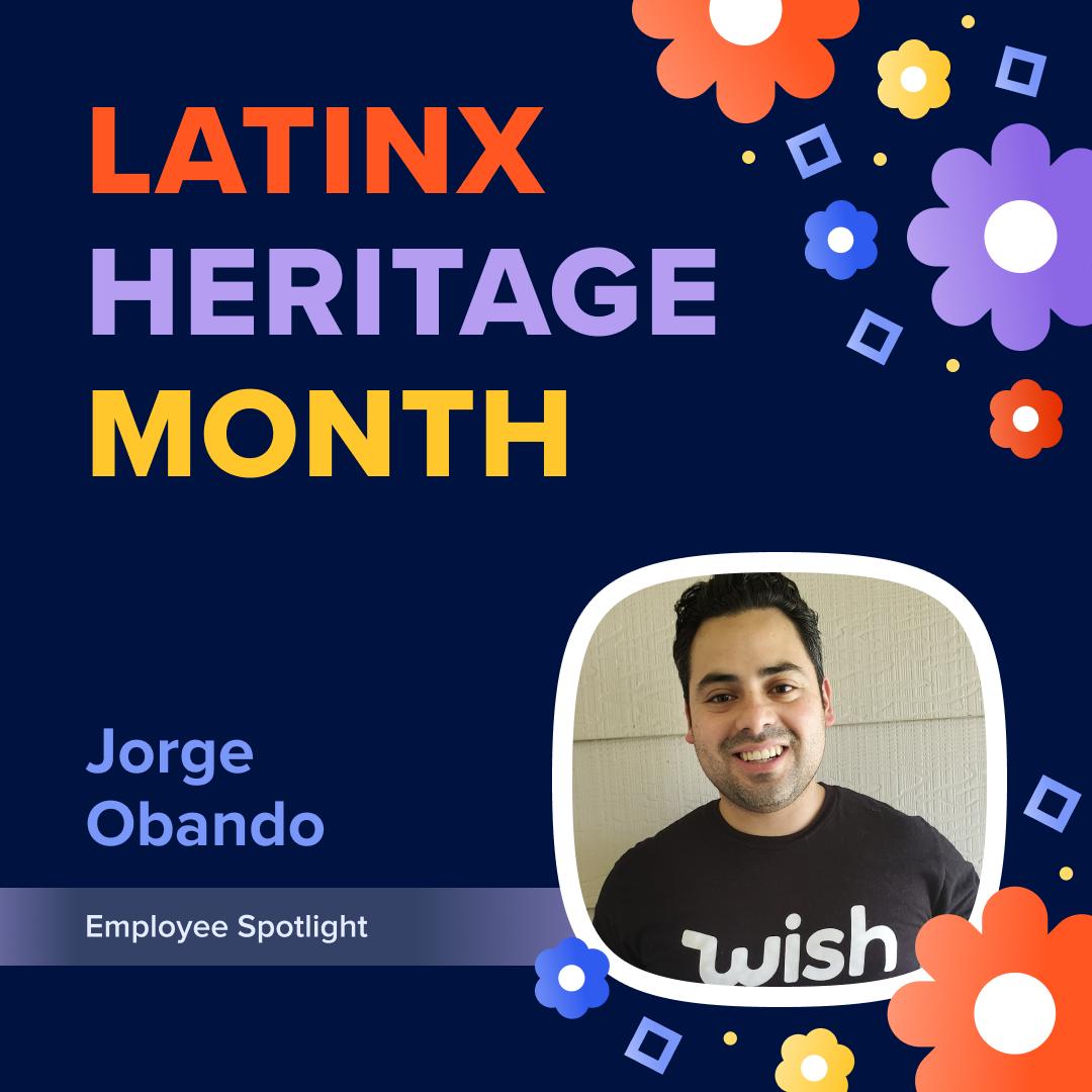 LatinX Heritage Month With Jorge Obando | Employee Spotlight