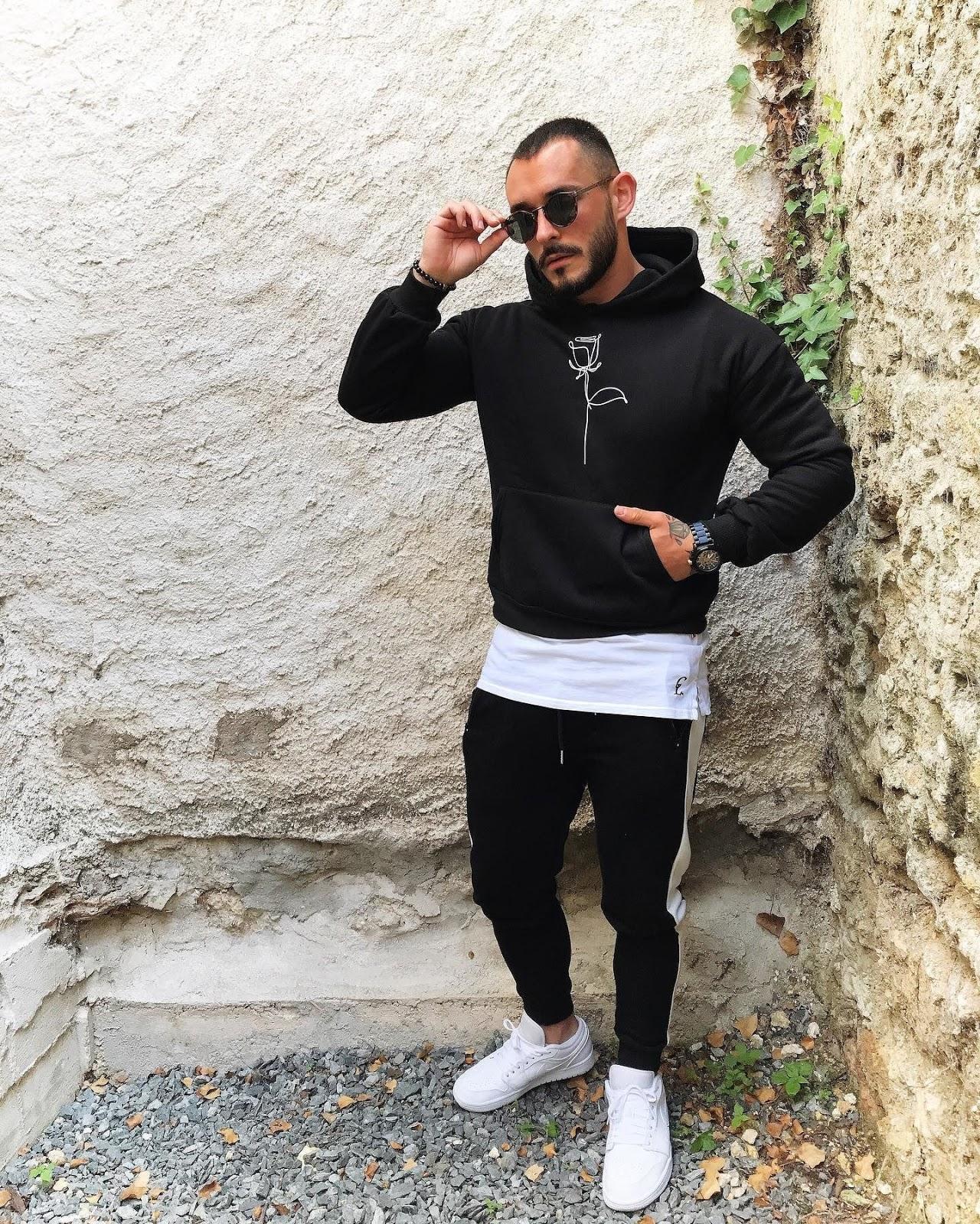 black-flower-hoodie