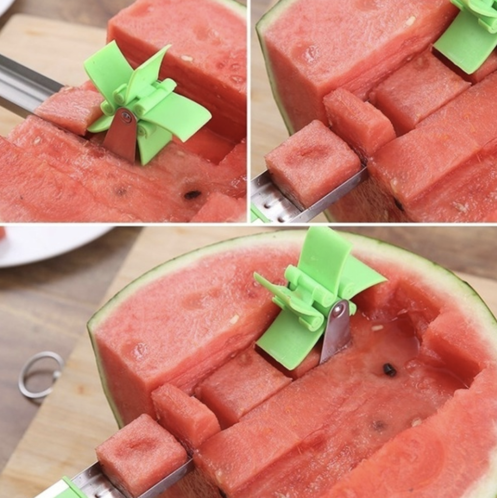 watermelon, utensil