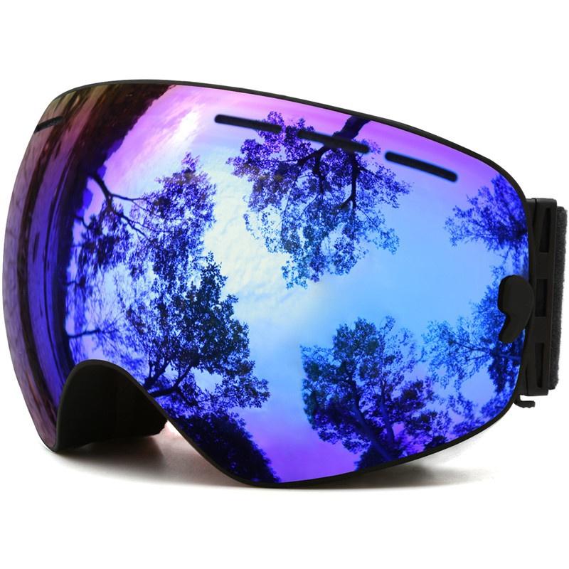 reflective ski goggles