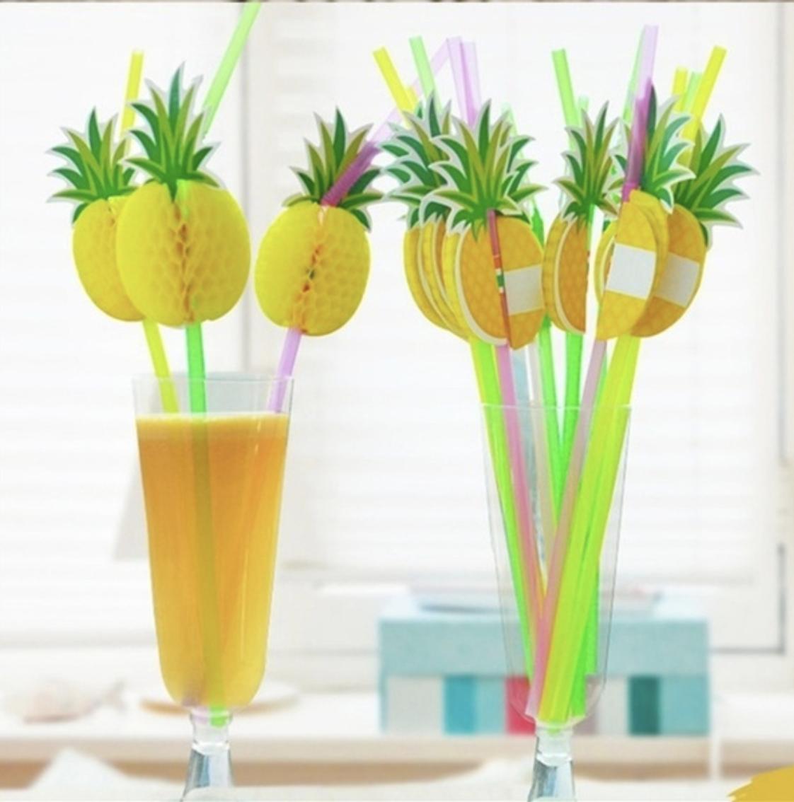 pineapple straws