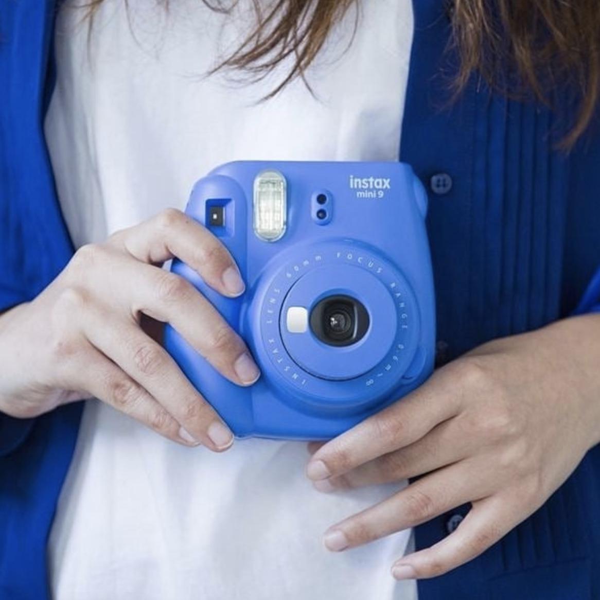 yearbook, polaroid camera