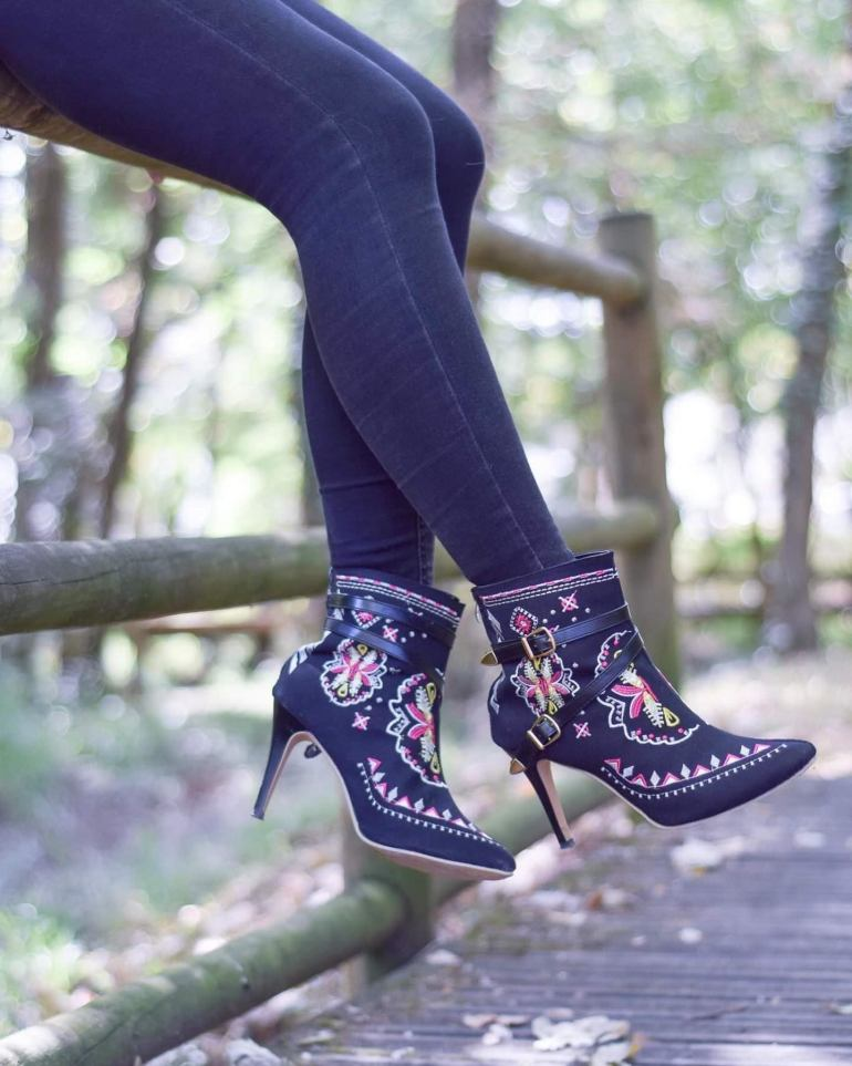 Embroidery Boots for Fall