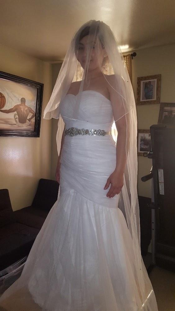 wedding, dress, belt