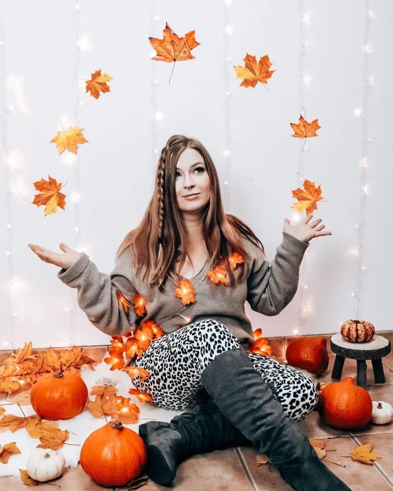 Fall Leaf Lights
