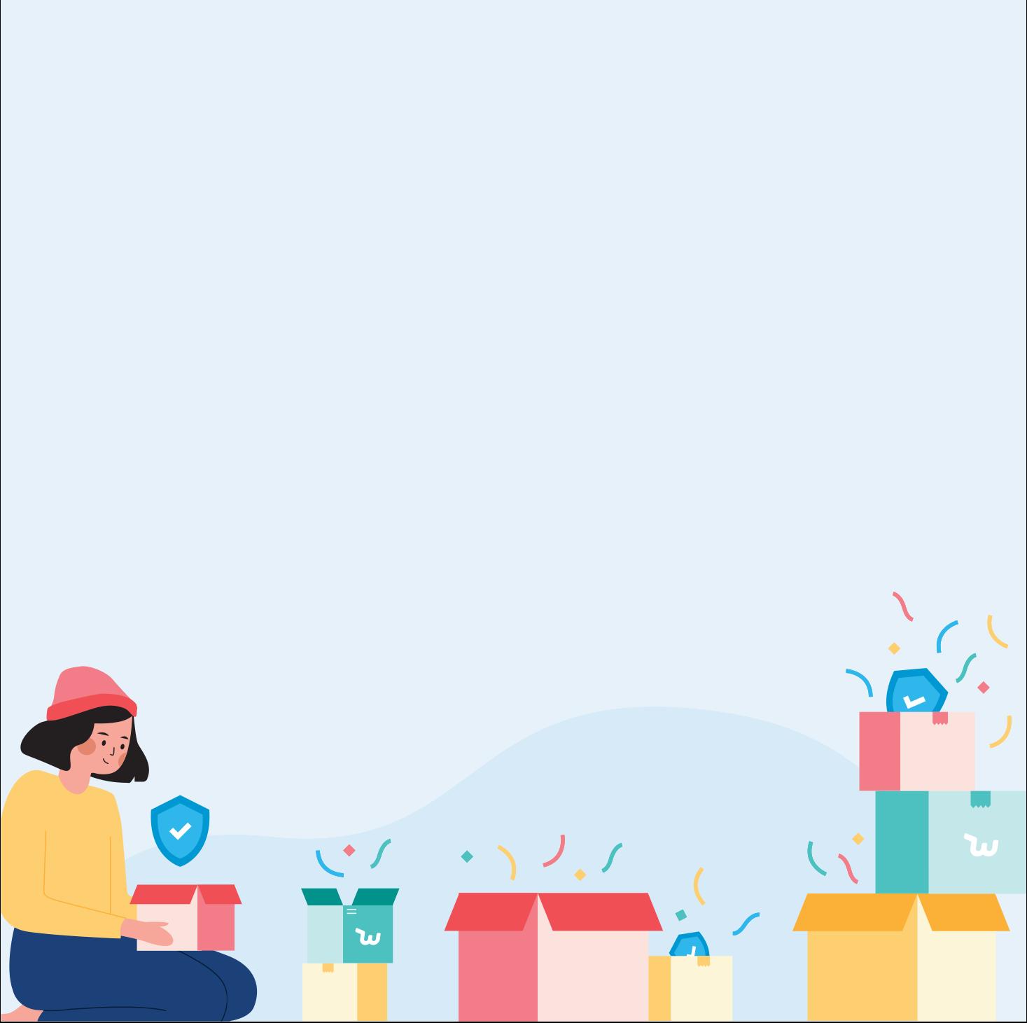 wish shopping graphic