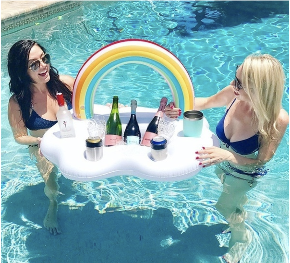 pool floating tray