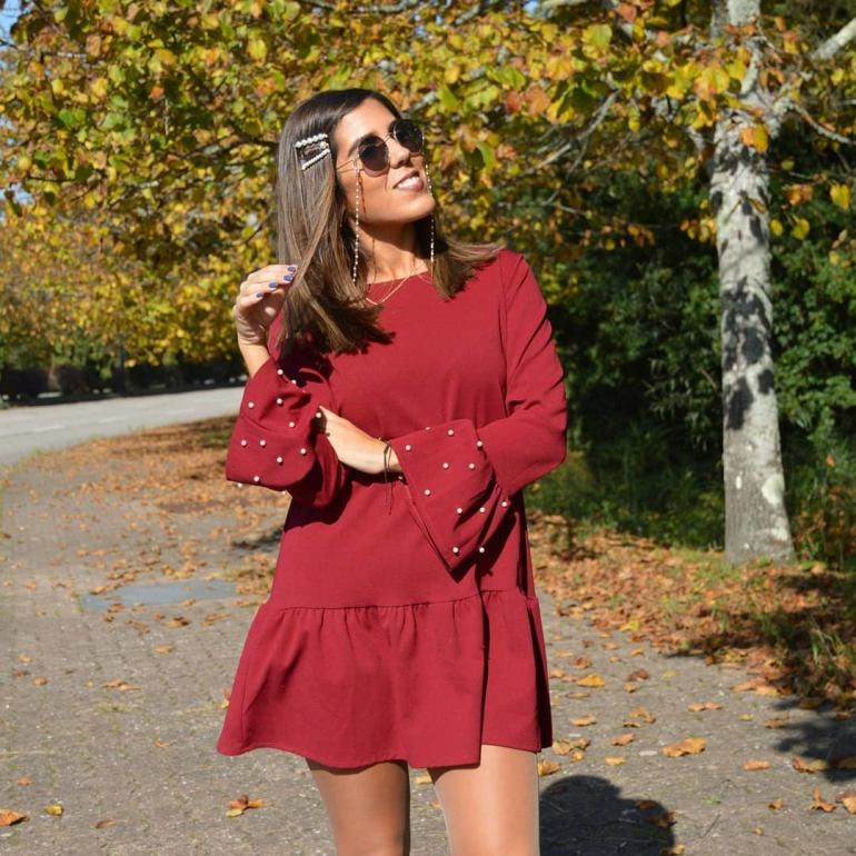 Red Dress for Fall