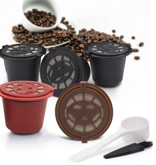 Reusable coffee capsules, sustainable