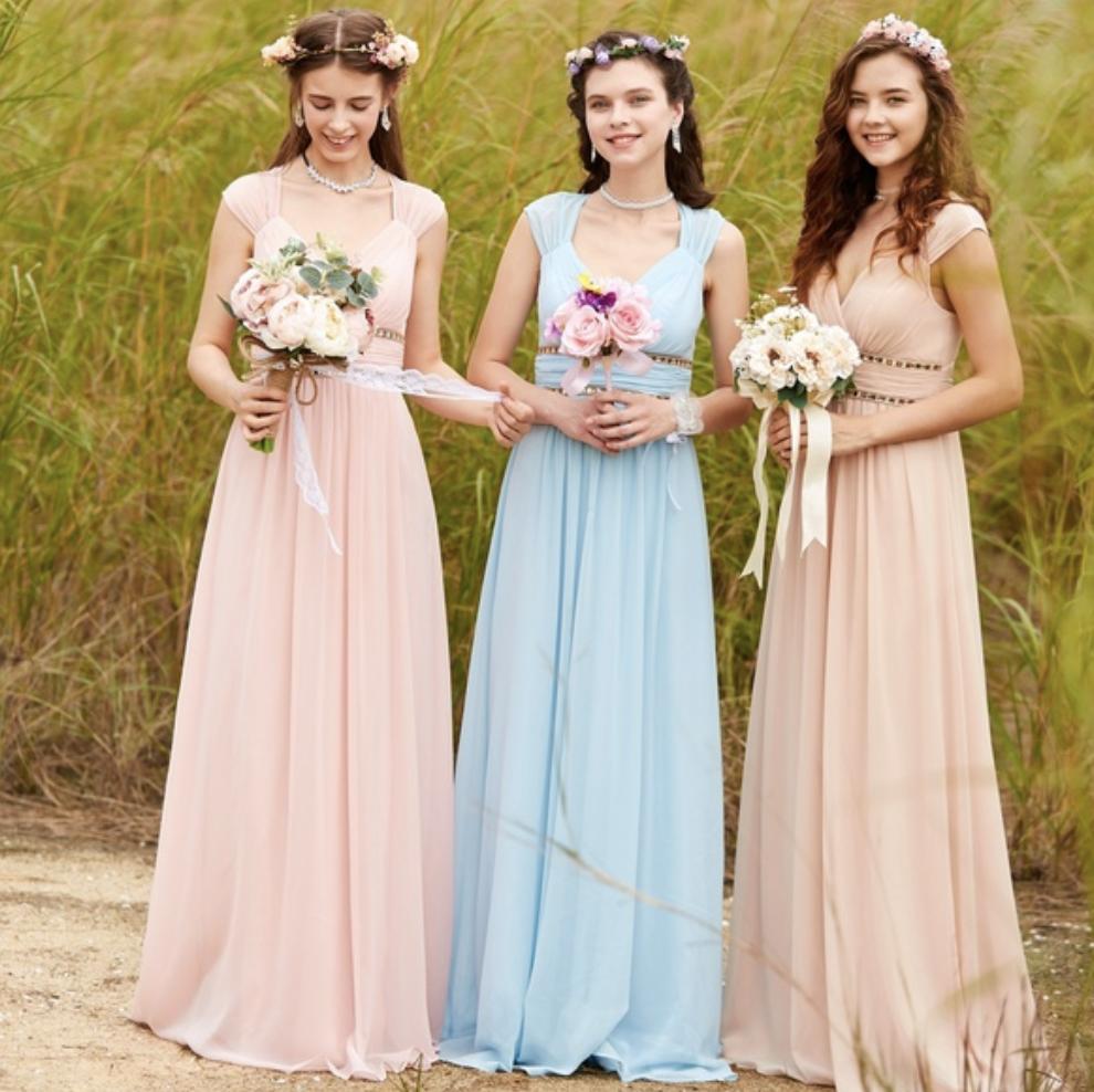 wedding, dress, bridesmaids
