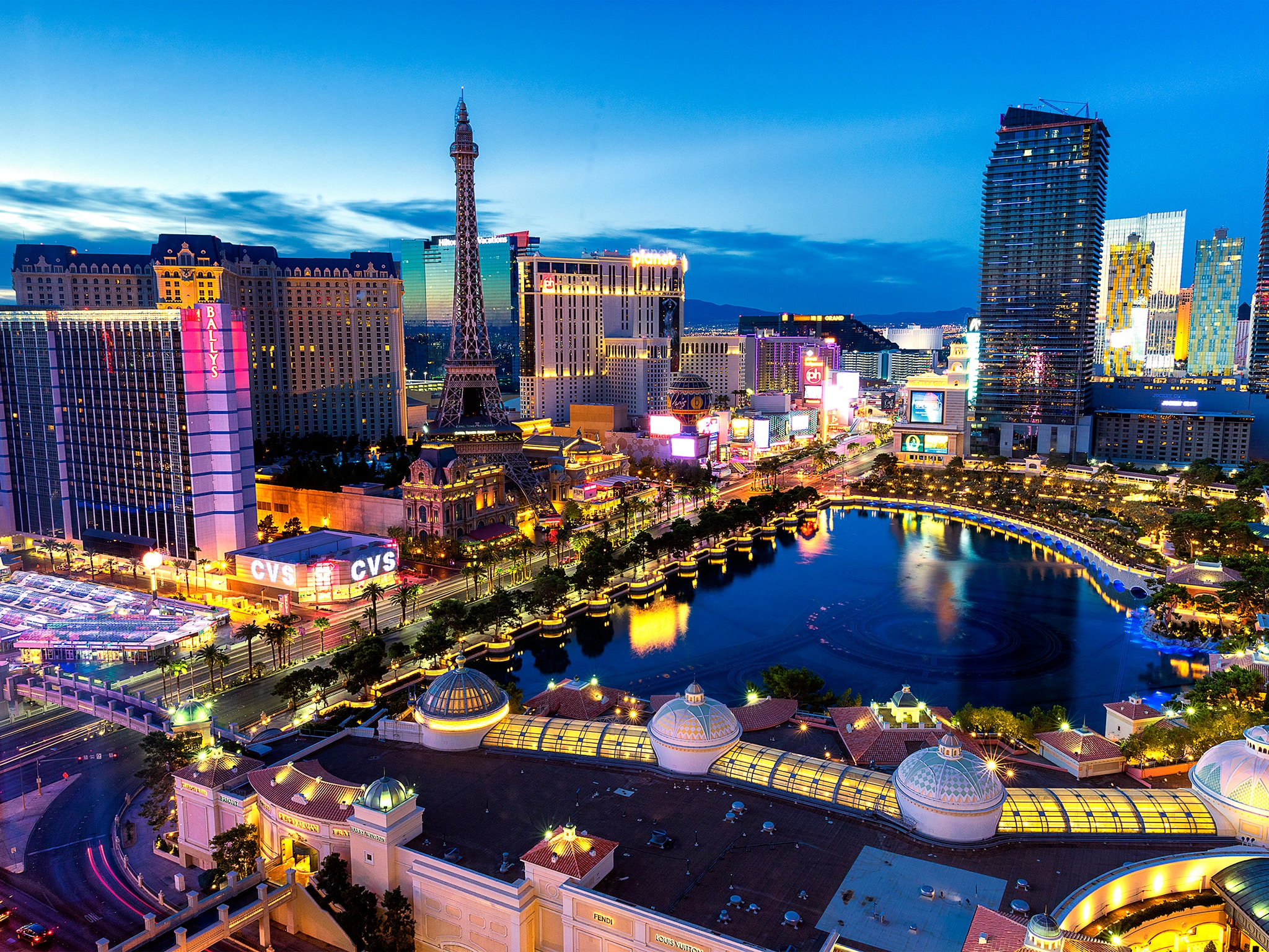 city view of Las Vegas