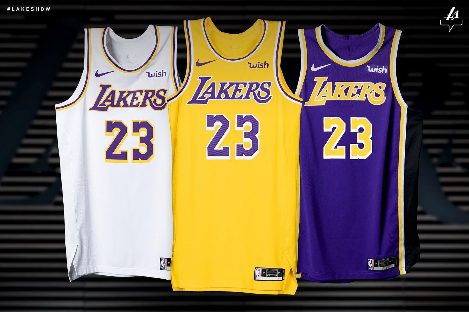 Lakers Wish jersey