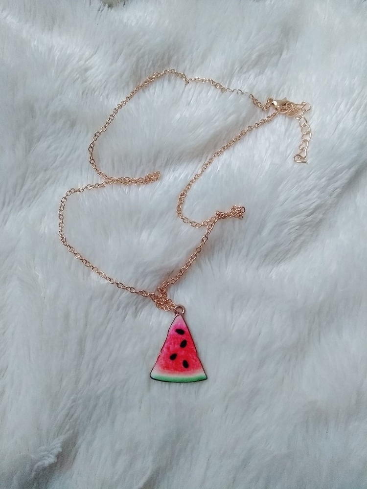 watermelon, necklace