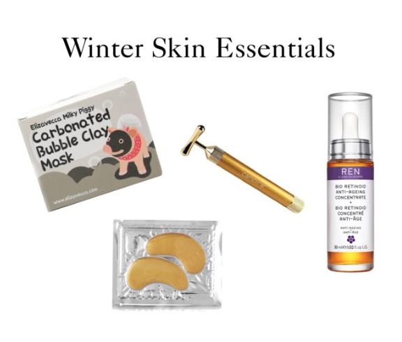 winter skincare kit