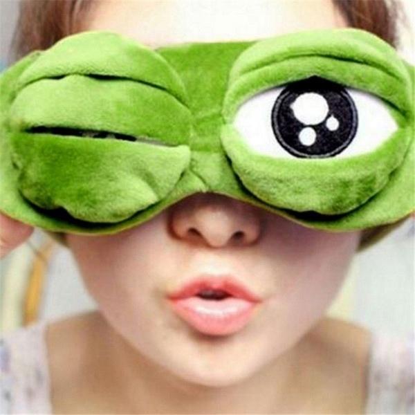 Frog Eye Mask, stocking
