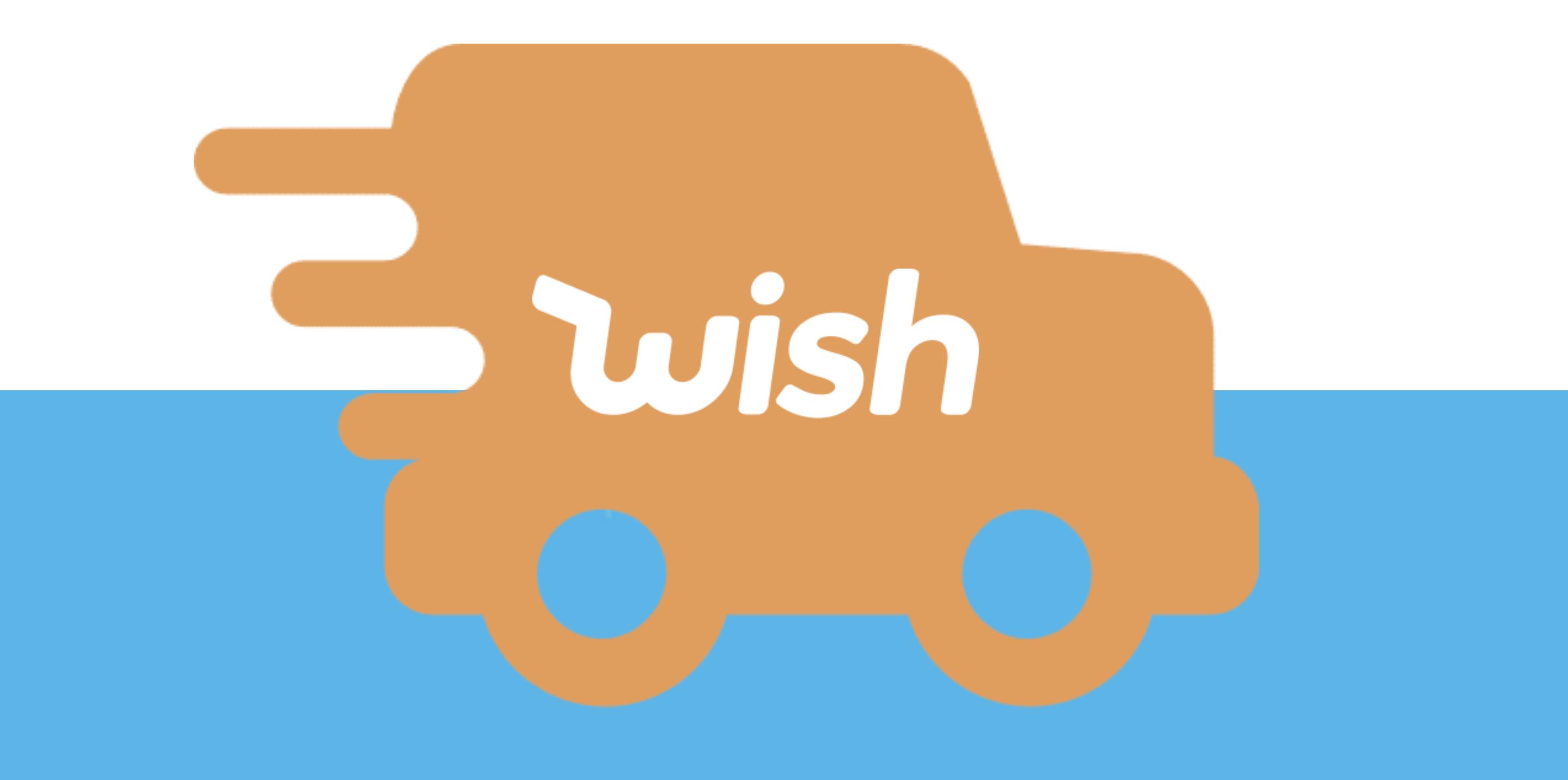 Wish Express LKW Symbol