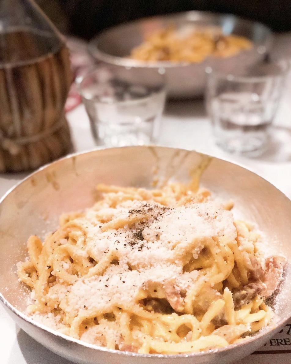 Spaghetti alla Carbonara authentic recipe
