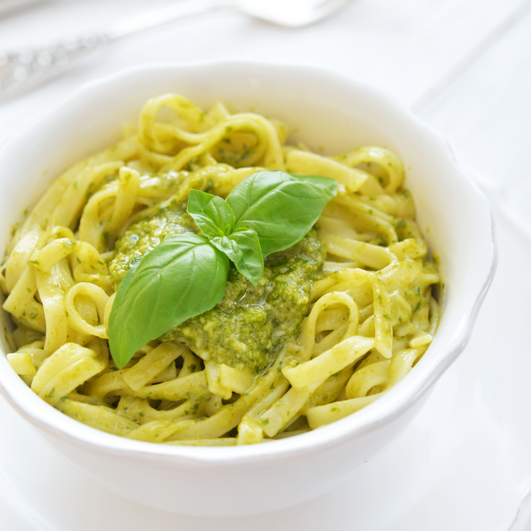 The Delicious and Easy Trenette With Pesto Recipe
